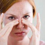 Необычный симптом инфекции пазух