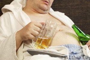 Алкоголь и лишний вес удваивают риск возникновения цирроза печени
