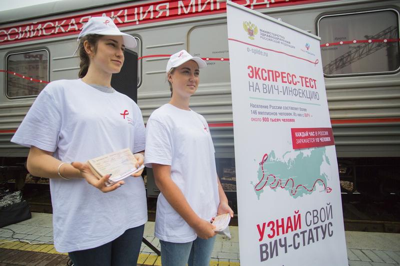 Всероссийская акция по анонимному экспресс-тестированию на ВИЧ