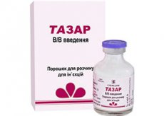 Тазар — антимикробное лекарственное средство
