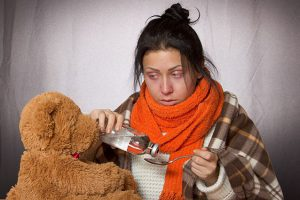 Опасность простуды. Пневмония может проходить и при низкой температуре тела